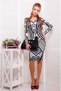 Платье в полоску фото