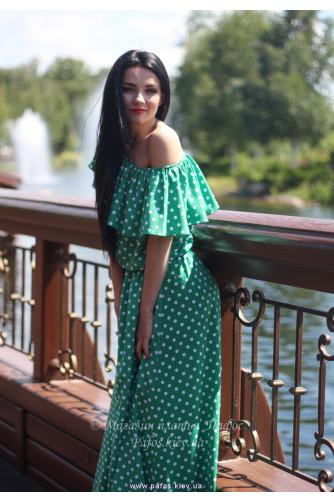 Модное платье в горошек в Киеве - Фото 2