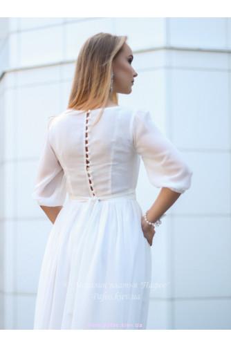 Белое платье на венчание в Киеве - Фото 5