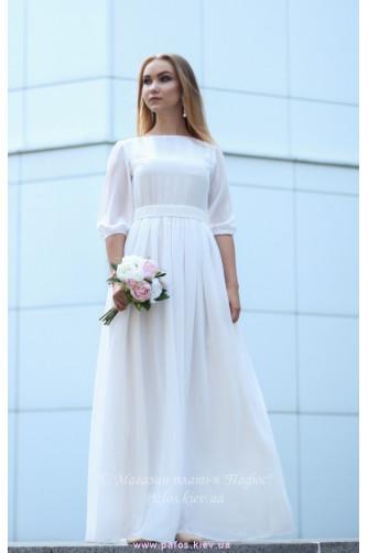 Белое платье на венчание в Киеве - Фото 2