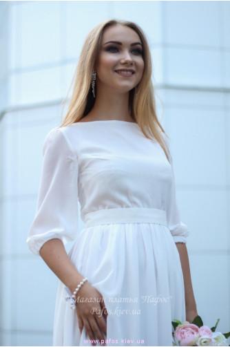 Белое платье на венчание в Киеве - Фото 4