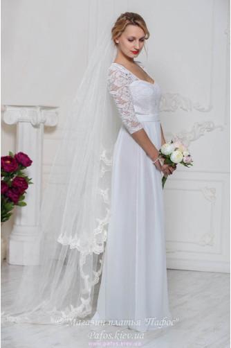 Белое платье в пол купить (Киев и Украина)   Интернет магазин Пафос f02170ed575