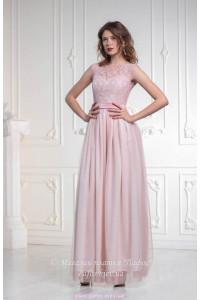 Платье пудровой розы фото