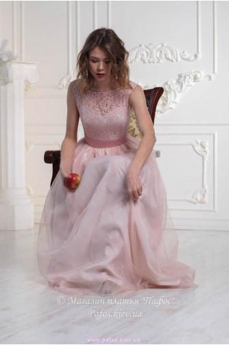 Платье пудровой розы в Киеве - Фото 2