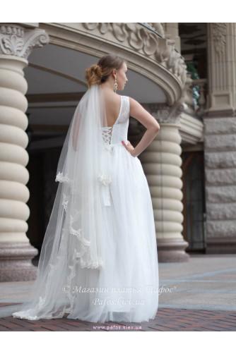Свадебное с корсетной шнуровкой в Киеве - Фото 3