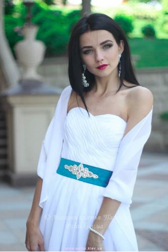 Белое корсетное платье в Киеве - Фото 4