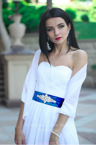 Белое корсетное платье в Киеве - Фото 9