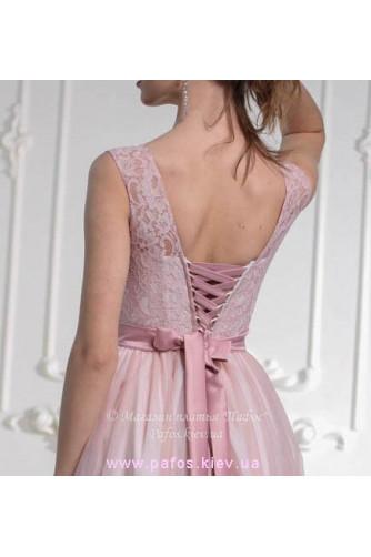 Платье пудровой розы в Киеве - Фото 3
