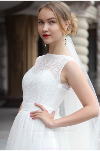 Свадебное с корсетной шнуровкой в Киеве - Фото 2