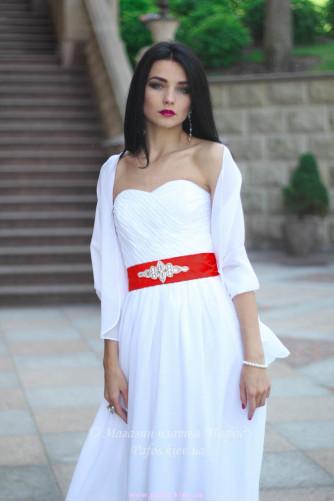 Белое корсетное платье в Киеве - Фото 5