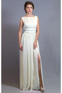 Длинное платье айвори фото