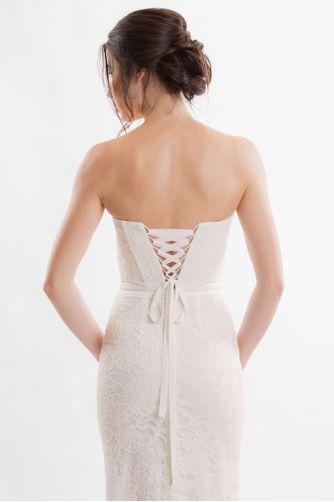 Открытое свадебное платье в Киеве - Фото 4