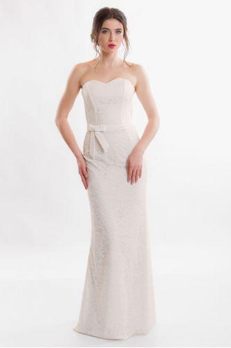 Открытое свадебное платье в Киеве - Фото 1