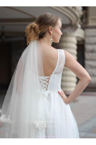 Свадебное с корсетной шнуровкой в Киеве - Фото 4