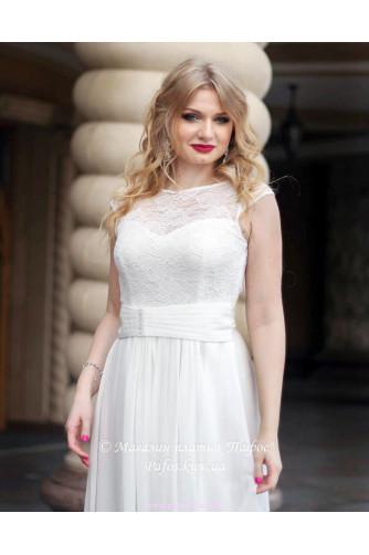 Свадебное платье с рукавчиком в Киеве - Фото 2