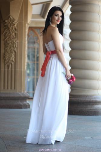 Белое корсетное платье в Киеве - Фото 2