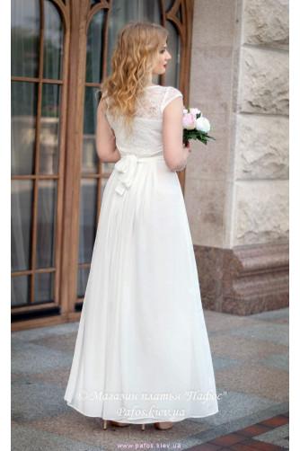 Свадебное платье с рукавчиком в Киеве - Фото 3