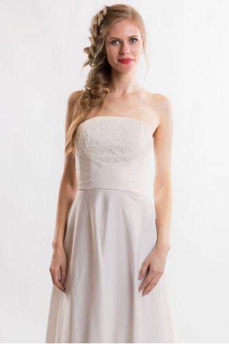Свадебное платье без бретелей в Киеве - Фото 3