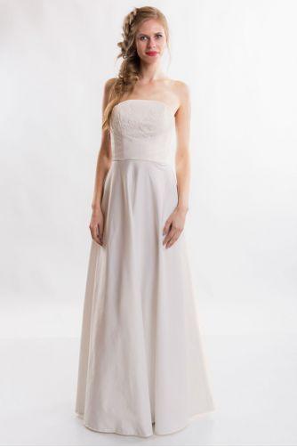 Свадебное платье без бретелей в Киеве - Фото 2
