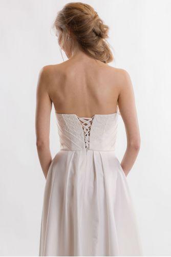 Свадебное платье без бретелей в Киеве - Фото 5