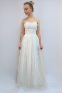 Свадебное платье для лета фото