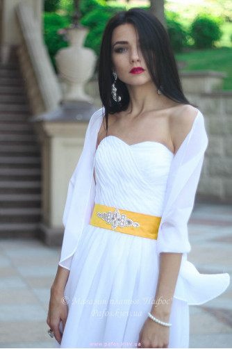 Белое корсетное платье в Киеве - Фото 8