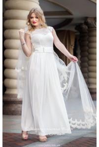 Свадебное платье с рукавчиком фото
