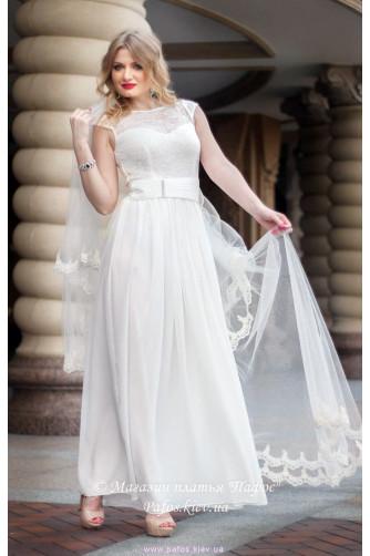 Свадебное платье с рукавчиком в Киеве - Фото 1