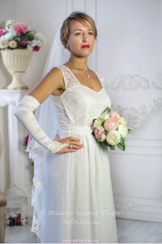 Платье белое длинное в Киеве - Фото 4