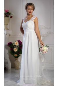 Платье белое длинное фото