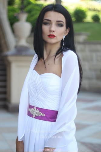 Белое корсетное платье в Киеве - Фото 6