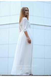 Белое платье на венчание фото