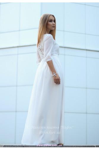 Белое платье на венчание в Киеве - Фото 1