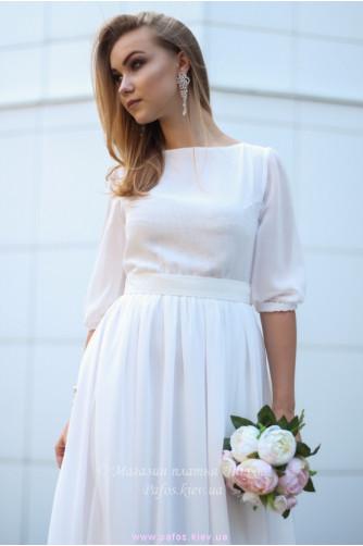 Белое платье на венчание в Киеве - Фото 3