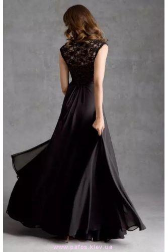 Черное платье с гипюром в Киеве - Фото 3