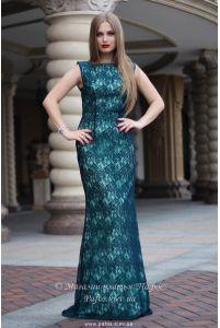 Изумрудное платье Русалка фото
