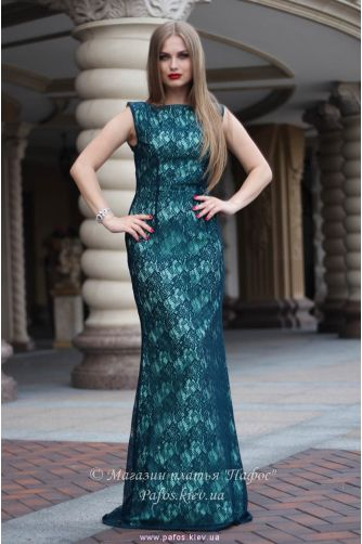 Изумрудное платье Русалка в Киеве - Фото 1