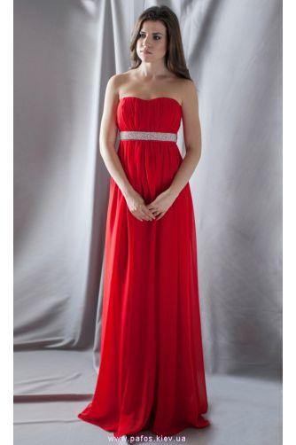 af0f64aacad Вечернее красное платье. Купить длинное платье в Украине