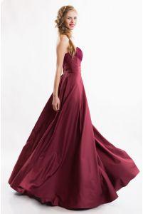 Открытое вечернее платье марсала фото