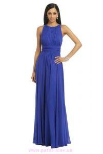 Синее платье в греческом стиле фото