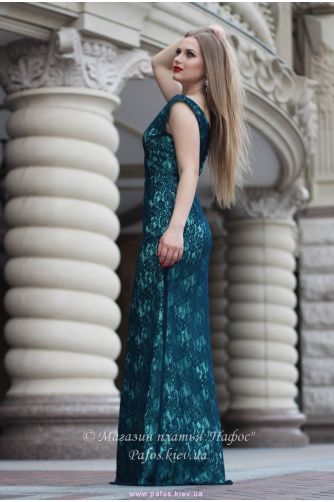Изумрудное платье Русалка в Киеве - Фото 3