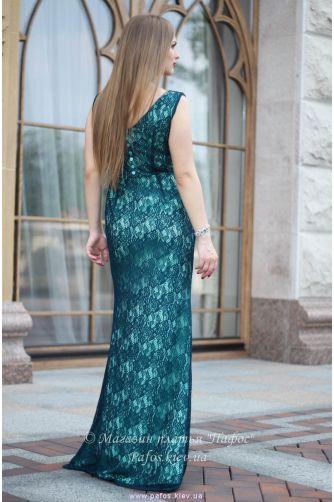 Изумрудное платье Русалка в Киеве - Фото 4