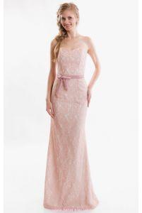 Вечернее корсетное платье русалка фото