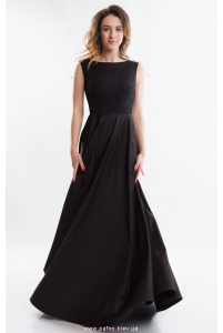 Вечернее платье черное фото