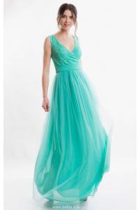 Вечернее платье мятное фото