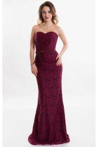 Вечернее платье русалка на корсете фото