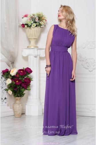 Фиолетовое платье на выпускной в Киеве - Фото 1