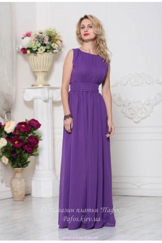 Фиолетовое платье на выпускной в Киеве - Фото 2