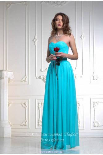 Платье цвета тиффани в Киеве - Фото 1