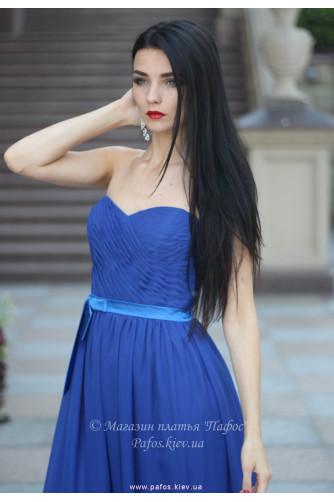 Синее платье корсетное в Киеве - Фото 3